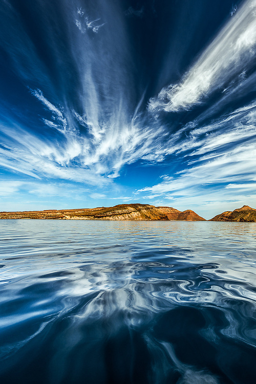 Isla la Partida, near Ensanada Grande, Sea of Cortez, February, Baja, Mexico