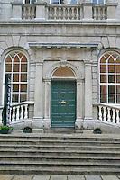 Door at Powerscourt townhouse centre, Dublin, Ireland