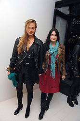 Left to right, sisters PRINCESS ELIZABETH THURN & TAXIS and PRINCESS MARIA THERESIA THURN & TAXIS at an exhibition of paintings by artist Rene Richard at the Scream Gallery, Bruton Street, London on 3rd April 2008.<br /><br />NON EXCLUSIVE - WORLD RIGHTS