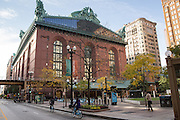 Harold Washington Library Center on South State Street, Chicago, IL.