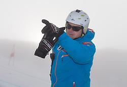 08.10.2013, Moelltaler Gletscher, Flattach, AUT, OeSV Medientag, im Bild Trainer Wolfgang Erharter // Trainer Wolfgang Erharter during the media day of Austrian Ski Federation OeSV at Moelltaler glacier in Flattach, Austria on 2013/10/08. EXPA Pictures © 2013, PhotoCredit: EXPA/ Johann Groder