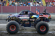 MONSTER TRUCK_American Guardian prior to the Monster Truck Challenge at the Orange County (NY) Fair Speedway.