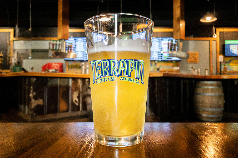 Fresh craft beer at Terrapin Beer Co. in Athens, Georgia on Tuesday, July 13, 2021. Copyright 2021 Jason Barnette