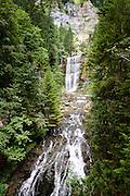 Waterval bij de Grand Chartreuse, Frankrijk - Waterfall  near the Grand Chartreuse, France