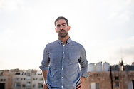 Khaled Abdul Hadi, founder of Amman based My Kali magazine, in Jordan. Khaled and his magazine challenge many social issues and stigmas in Jordan and the wider Arabic speaking region, especially on issues of minorities and identity.