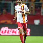 Galatasaray's Hamit Altintop during their Turkish Super League soccer match Galatasaray between Eskisehirspor at the TT Arena at Seyrantepe in Istanbul Turkey on Saturday, 06 October 2012. Photo by TURKPIX