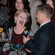 NLD/Amsterdam/20110328 - Uitreking Rembrandt Awards 2011, Rene Mioch in gesprek met Rene Soutendijk