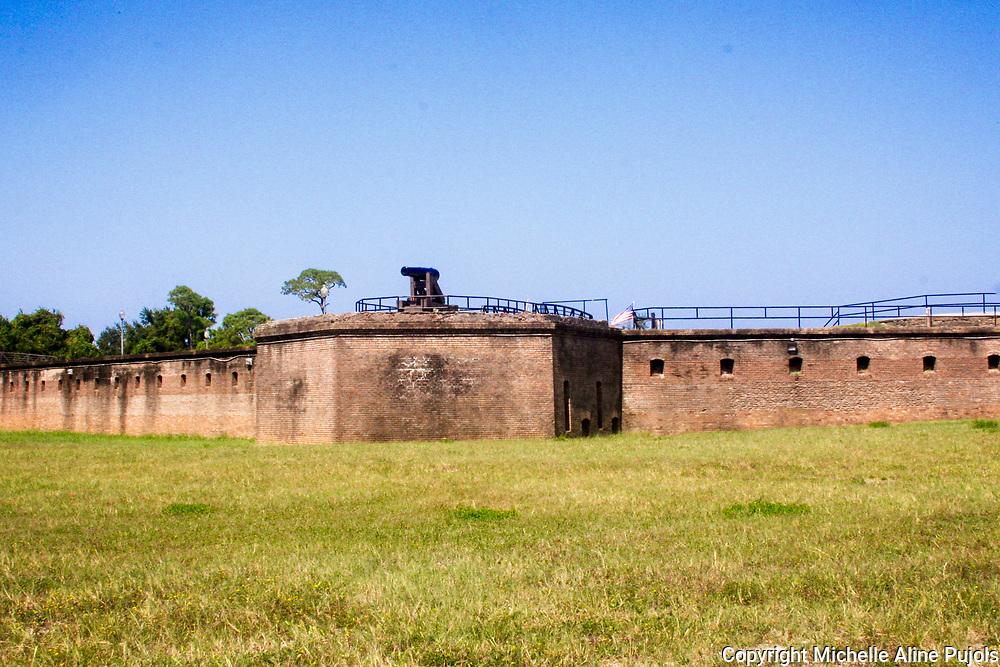 Fort Gaines, Dauphin Isalnd, Alabama
