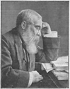 Walter Besant (1836-1901) English social reformer, novelist and editor. First chairman of the Society of Authors (1884). Wood engraving, 1901