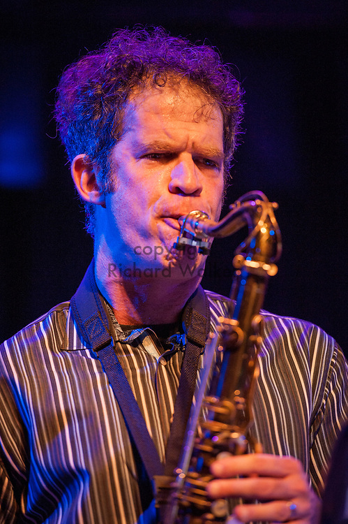 2017 OCTOBER 25 - Anton Schwartz performs with Jazz Night School's Big Band Blue  at The Royal Room, Seattle, WA, USA. By Richard Walker