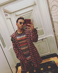 """Lewis Hamilton releases a photo on Instagram with the following caption: """"New look....who dis? #mfw"""". Photo Credit: Instagram *** No USA Distribution *** For Editorial Use Only *** Not to be Published in Books or Photo Books ***  Please note: Fees charged by the agency are for the agency's services only, and do not, nor are they intended to, convey to the user any ownership of Copyright or License in the material. The agency does not claim any ownership including but not limited to Copyright or License in the attached material. By publishing this material you expressly agree to indemnify and to hold the agency and its directors, shareholders and employees harmless from any loss, claims, damages, demands, expenses (including legal fees), or any causes of action or allegation against the agency arising out of or connected in any way with publication of the material."""