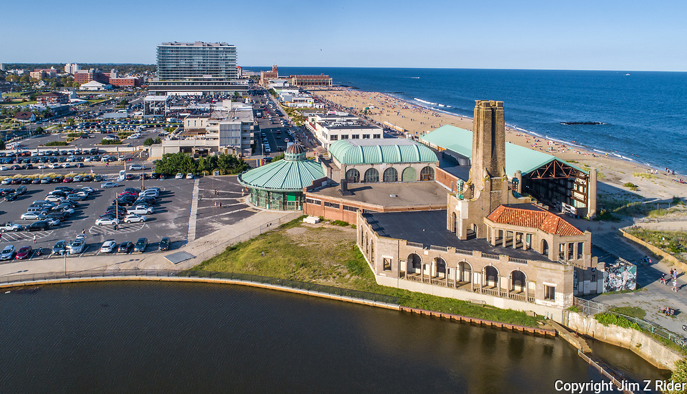 Asbury Park with the Casino & Carousel in the foreground