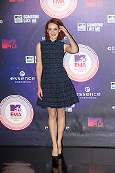 Jena Malone.<br /> Red carpet at the MTV EMA, Glasgow.