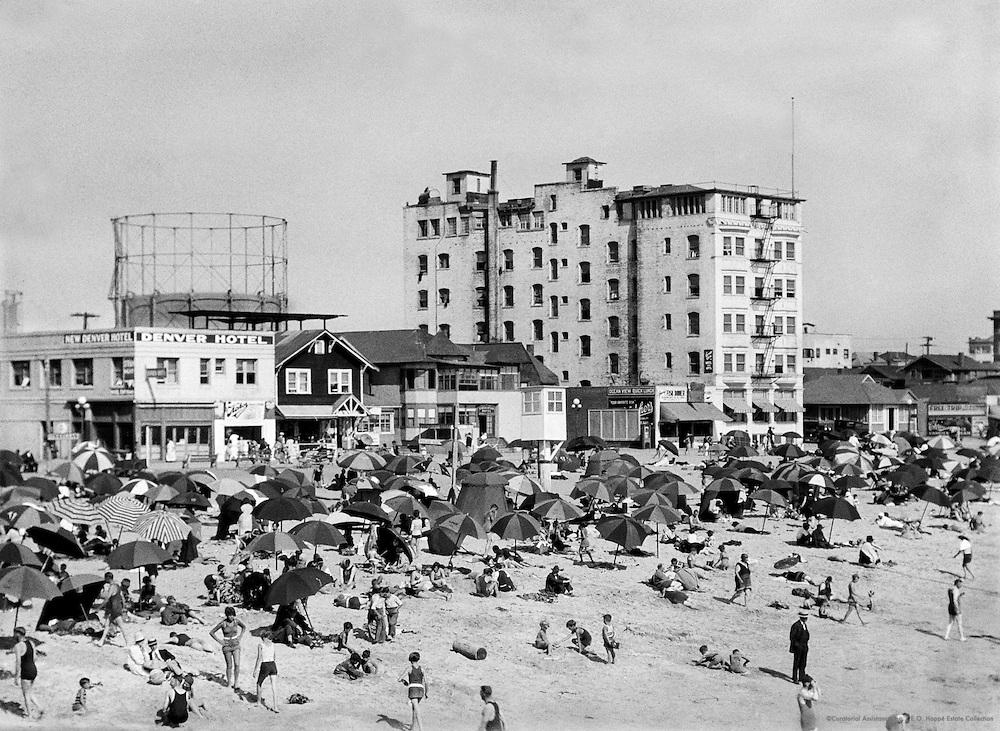 Beach, Los Angeles, California, 1926