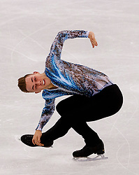 February 12, 2018 - Gangneung, South Korea - ADAM RIPPON of the USA competes during the Team Event Men Single Skating FS at the PyeongChang 2018 Winter Olympic Games at Gangneung Ice Arena.  (Credit Image: © Paul Kitagaki Jr. via ZUMA Wire)
