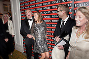 CHRISTOPHER FOYLE; TARA PALMER-TOMPKINSON; GORDON WISE ; MRS. CHRISTOPHER FOYLE, 80th anniversary gala dinner for the FoylesÕ Literary Lunch. Ballroom. Grosvenor House Hotel. Park Lane. London. 21 October 2010. -DO NOT ARCHIVE-© Copyright Photograph by Dafydd Jones. 248 Clapham Rd. London SW9 0PZ. Tel 0207 820 0771. www.dafjones.com.<br /> CHRISTOPHER FOYLE; TARA PALMER-TOMPKINSON; GORDON WISE ; MRS. CHRISTOPHER FOYLE, 80th anniversary gala dinner for the Foyles' Literary Lunch. Ballroom. Grosvenor House Hotel. Park Lane. London. 21 October 2010. -DO NOT ARCHIVE-© Copyright Photograph by Dafydd Jones. 248 Clapham Rd. London SW9 0PZ. Tel 0207 820 0771. www.dafjones.com.