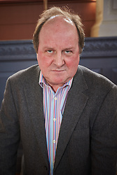 © Licensed to London News Pictures.  22/03/2014. OXFORD, UK. James Naughtie, Radio 4 Today programme presenter and author, speaking at an Oxford Literary Festival event in the Sheldonian Theatre about his new thriller The Madness of July. <br /> <br /> In this picture: James Naughtie<br /> <br /> Photo credit: Cliff Hide/LNP