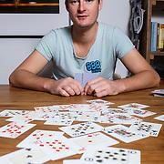 NLD/Amsterdam/20131030 -Pokerspeler Michiel Brummelhuis
