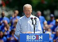 2020 Presidential Election - Democrat Joe Biden and Republican Donald Trump