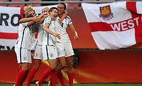 Football - 2017 UEFA Women's European [Euro] Championship - Group D: England vs. Scotland<br /> <br /> Ellen White of England celebrates at Stadion Gagenwaard, Utrecht.<br /> <br /> COLORSPORT/LYNNE CAMERON