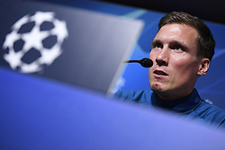 November 26, 2019, Genk, UNITED KINGDOM: Genk's head coach Hannes Wolf pictured during a press conference of Belgian soccer team KRC Genk, Tuesday 26 November 2019 in Genk, in preparation of tomorrow's match against Austrian club RB Salzburg in the group stage of the UEFA Champions League. BELGA PHOTO YORICK JANSENS (Credit Image: © Yorick Jansens/Belga via ZUMA Press)