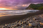Pololu Valley Beach on the Big Island of Hawaii