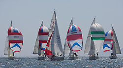 Final days' racing at the Silvers Marine Scottish Series 2016, the largest sailing event in Scotland organised by the  Clyde Cruising Club<br /> <br /> Racing on Loch Fyne from 27th-30th May 2016<br /> <br /> Sigma 33, Fleet,  Leeward Mark, GBR4607, Leaky Roof II, Harper/Robertson, CCC/Cove SC<br /> Credit : Marc Turner / CCC<br /> For further information contact<br /> Iain Hurrel<br /> Mobile : 07766 116451<br /> Email : info@marine.blast.com<br /> <br /> For a full list of Silvers Marine Scottish Series sponsors visit http://www.clyde.org/scottish-series/sponsors/