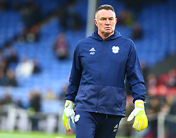 December 26, 2018 - London, England, United Kingdom - London, England - 26 December, 2018.Cardiff City Goalkeeper Coach Andy Dibble.during English Premier League between Crystal Palace and Cardiff City at Selhurst Park stadium , London, England on 26 Dec 2018. (Credit Image: © Action Foto Sport/NurPhoto via ZUMA Press)