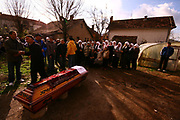 Pristina, Kosovo | October – November 2009<br /> Vedat Xhymshiti | ZUMA Press<br /> <br /> Some 15 Kosovo Albanians are believed to have drowned while trying to illegally cross the Tisa River, separating Serbia and Hungary.<br /> Officials at Kosovo's Foreign Affairs Ministry have confirmed to reporters that the tragedy took place between October 14 and 16. According to Hungarian television station TV-2, one man and two children survived when a boat carrying 18 or 19 people sank.<br /> Pristina newspaper Express reported that one man, a Kosovo Albanian, was arrested following the incident. According to Serbian broadcaster RTS the arrested man said he had only managed to save his two children and that his wife had died. The Tisa River separates Subotica in Serbia and Sezget in Hungary. <br /> In accordance with the Constitution and based on the Law of the State Protocol, as well as deeply felt the pain of all citizens of the Republic of Kosovo for the tragedy that affected citizens - citizens of the Republic of Kosovo trying to cross the river Tisa in November, Republic of Kosovo President Fatmir Sejdiu has taken the decision date November 2, in the Republic of Kosovo, in a sign of honor for all victims of this tragedy, the state declared days of mourning. Case that occurred in the Tisa River in the middle of the Serbia-Hungary border and which is suspected of losing their life over 15 people, is a tragedy which shocked the families of victims but not the government. This event occurred in time when political parties and the government policy in Kosovo were very busy with the election campaigns of trying to disclose the policies of their political philosophy, as their order according it principled citizen. <br /> The media in Kosovo did not seem the scene. Strangely they stepped back preoccupied with their pre-election campaign coverage. RTK Radio Television of Kosovo, which is funded by the citizens, was not found in near families of victims when they where waiting 