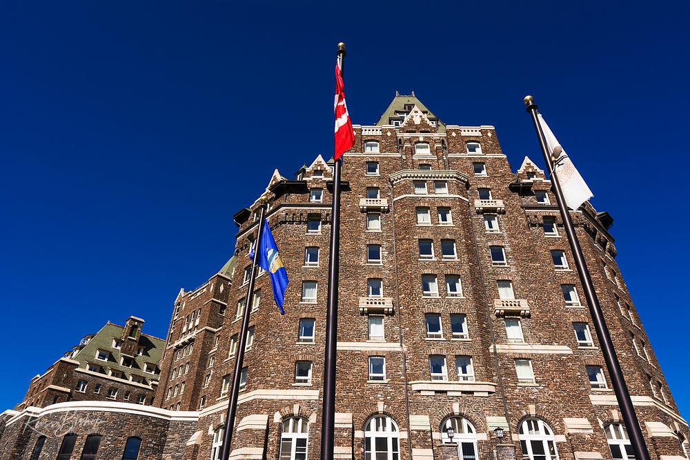 The Banff Springs Hotel, Banff National Park, Alberta, Canada