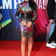 Vanessa Sam attended King Richard | BFI London Film Festival 2021, 15 October 2021 Southbank Centre, Royal Festival Hall, London, UK.