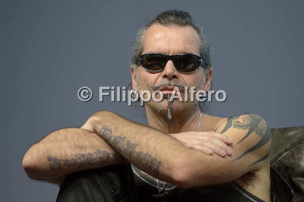 © Filippo Alfero<br /> Salone del Libro 2014<br /> Torino, 09/05/2014<br /> Nella foto: Piero Pelù