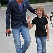 NLD/Amsterdam/20130621 - Boekpresentatie Buskruit met Muisjes, Richard Kemper en zoon Ischa