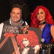 NLD/Hilversum/20130610 - Presentatie 1e album Sharon Doorson, door Marco Borsato