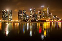 Singapore - Marina Bay, Before Sunrise