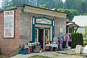 Kaslo, Village on Kootenay Lake, West Kootenay, British Colmubia, Canada