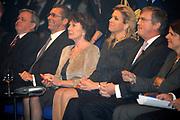 Jaarcongres van MKB-Nederland in het World Forum, Den Haag . // MKB Annual Congress n the World Forum, The Hague.<br /> <br /> Op de foto/ On the photo: <br /> <br />  HKH prinses Maxima en Eurocommissaris Neelie Kroes