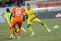 Yacine BAMMOU - 20.12.2014 - Lorient / Nantes - 17eme journee de Ligue 1 -<br />Photo : Vincent Michel / Icon Sport