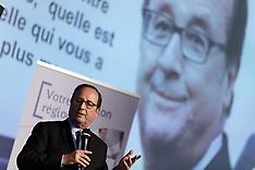 Francois Hollande seen at book signing session - 18 June 2018