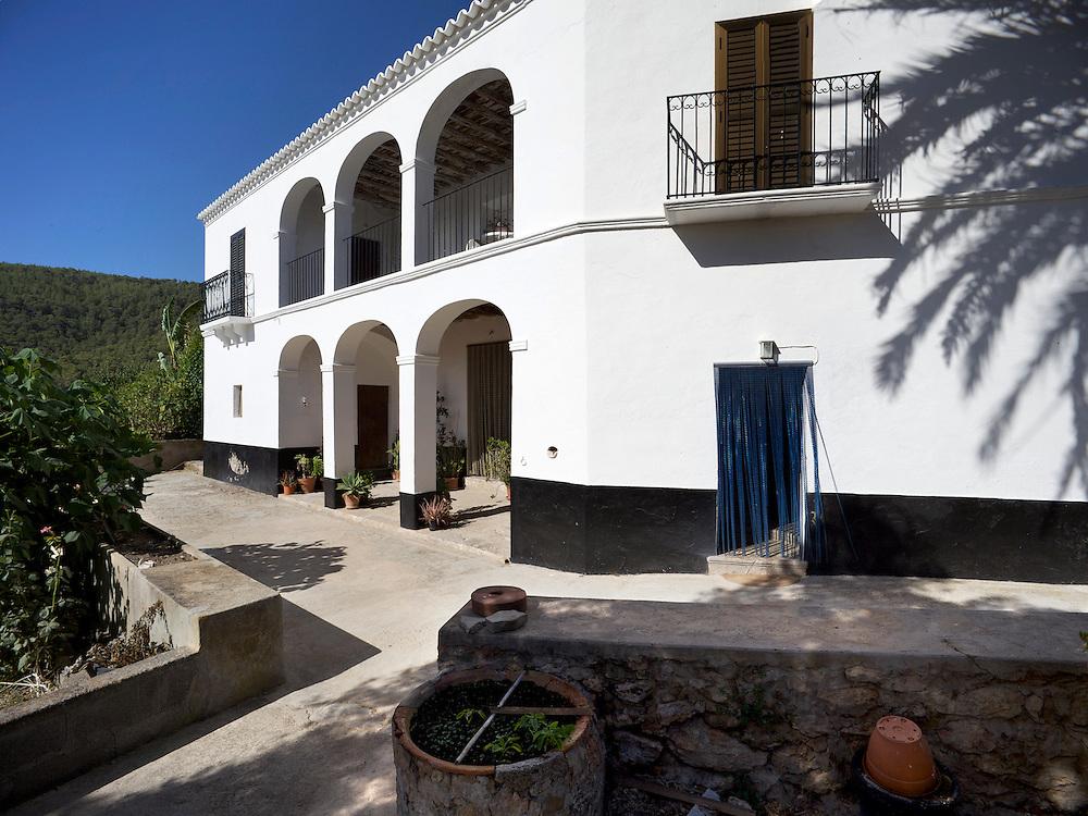 25/Julio//2009 Ibiza.Casa payesa de Can Vicent des Verger en Sant Josep..©JOAN COSTA