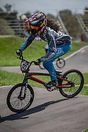 2018 UCI BMX Supercross<br /> Round 7 Santiago Del Estero (Argentina)<br /> Elite Women<br /> Practice<br /> #122 (CARR Amanda) THA