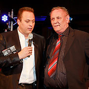 NLD/Utrecht/20110330 - Persconferentie Frans Bauer ivm nieuwe dvd en Ahoy concerten, Frans en zijn vader Chris