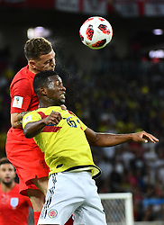 Colombia's Jefferson Lerma during the 1/8 final game between Colombia and England at the 2018 FIFA World Cup in Moscow, Russia on July 3, 2018. Photo by Lionel Hahn/ABACAPRESS.COM