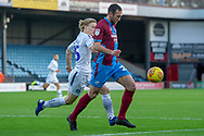 Scunthorpe United defender Rory McArdle (23) during the EFL Sky Bet League 1 match between Scunthorpe United and Wycombe Wanderers at Glanford Park, Scunthorpe, England on 29 December 2018.