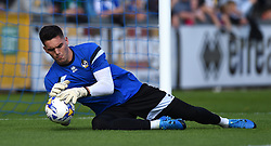 Lee Nicholls of Bristol Rovers warms up before the Sky Bet League Two game between Bristol Rovers and Accrington Stanley on 12 September 2015 in Bristol, England - Mandatory by-line: Paul Knight/JMP - Mobile: 07966 386802 - 12/09/2015 -  FOOTBALL - Memorial Stadium - Bristol, England -  Bristol Rovers v Accrington Stanley - Sky Bet League Two