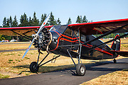 1931 Sinson Junior S at the Nortwest Antique Airplane Club FlyIn at Scapoose, OR