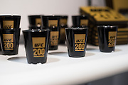 LAS VEGAS, NV - JULY 10:  UFC 200 shot glasses for sale during UFC Fan Expo Day 3 at the Las Vegas Convention Center on July 10, 2016 in Las Vegas, Nevada. (Photo by Cooper Neill/Zuffa LLC/Zuffa LLC via Getty Images) *** Local Caption ***