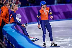 24-02-2018: Olympische Spelen: Dag 15: Pyeongchang<br /> Koen Verweij heeft Nederland op de Winterspelen het brons bezorgd op de massastart. Sven Kramer