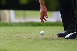 27.06.2014, Golf Club Gut Laerchenhof, Pulheim, GER, BNW International Golf Open, im Bild Ball auf dem Tee // during the International BMW Golf Open at the Golf Club Gut Laerchenhof in Pulheim, Germany on 2014/06/27. EXPA Pictures © 2014, PhotoCredit: EXPA/ Eibner-Pressefoto/ Kolbert<br /> <br /> *****ATTENTION - OUT of GER*****