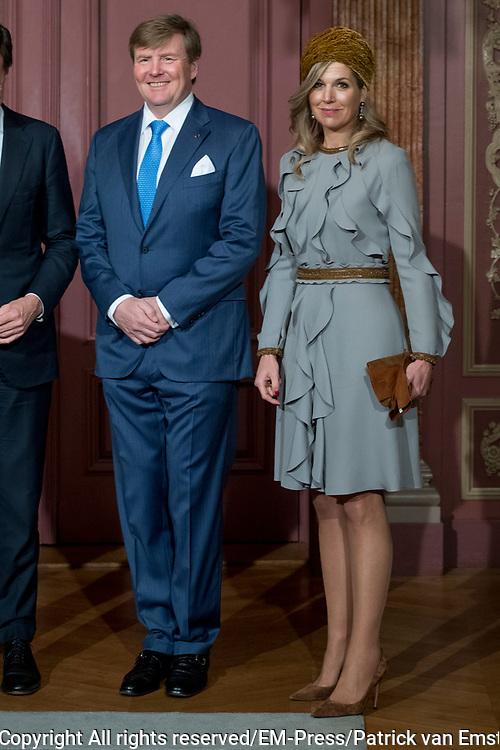 Officieel bezoek Jordanie aan Nederland - Dag 2<br /> <br /> Jordaans koningspaar op bezoek in de Tweede Kamer<br /> <br /> <br /> Official visit Jordan to the Netherlands - Day 2<br /> <br /> Jordanian royal couple visiting the Parlement